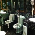 enclosed bathroom