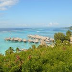 The Panoramic View of the Hilton Moorea Resort and Spa!