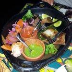 bästa lammet och köttet på salvation tacos