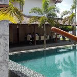 Pool side Restaurent
