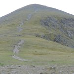 Route up towards Skiddaw from the Birkett Edge side