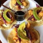 Tempura shripm tacos... delicious!!