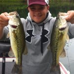 My two biggest fish so far in 2013