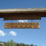 Hell's A-Roarin' Outfitters Entrance