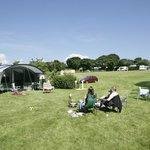Family camping at Leadstone Camping