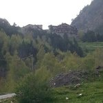 vue de l hôtel depuis le village