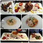 3 delicious courses for two :)