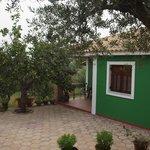 Hara - front porch