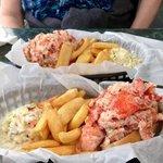 Super Sized Lobster Rolls.... YUM!