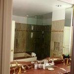 full bath with great shower & tub