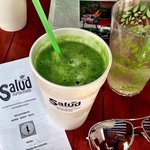 Gasolina Verde (Green Fuel) Smoothie