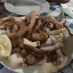 fritura de pescado para uno