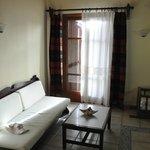 sitting room / kitchenette