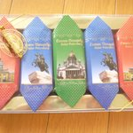 近くのスーパーで購入した、お土産用のチョコレート。