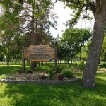 Klasey Park across the road