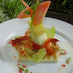 Prawn and Fruit Salad