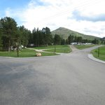 view of road in campground