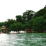 The resort view