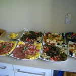 Platters made for large group at 'A Taste of Italy'