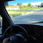 Shellee-Ann driving.