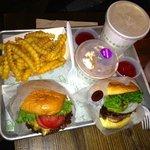 Burgers, fries and frozen custard!
