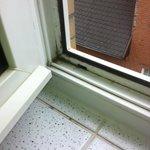 Fenster Dreck