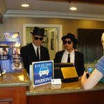 Hotel Check-in during Doheny Blues Festival