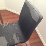 Worn out dining chairs