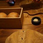 Heated bread box.