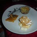 Succulent trio de dessert