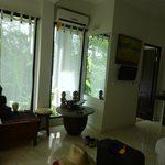 Room 3, roomy with A/C & gorgeous bath view to river gorge area.