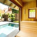 panoramic sauna