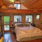 Larkspur Cabin zona letto