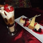 Desserts: Affogato & Lemon Cheesecake