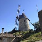 Cucugnan windmill, only a short walk away