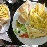 lobby coffeeshop sandwiches