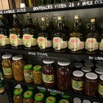 various oils and olives for purchase