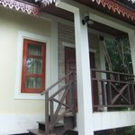 The entry to our bungalow