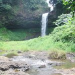 The waterfall below our bunglaow