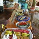 Breakfast bufet
