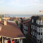 view to the Bosphorus