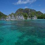 Blue lagoon, Raja ampat
