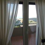 balcone camera vista mare