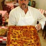 Mega Pizza served at Gatorz Pizza at Hilton Head Island Beach & Tennis Resort