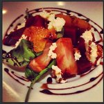 Confit Beetroot and Goats cheese salad