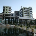 Hotel from Lake Ohrid