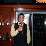 Josh, our lovely bartender