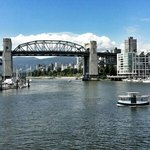 our view from Granville Island