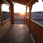 Breakfast BBQ Balcony View