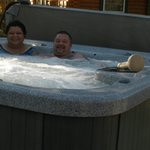 Personal jacuzzi is awesome!!